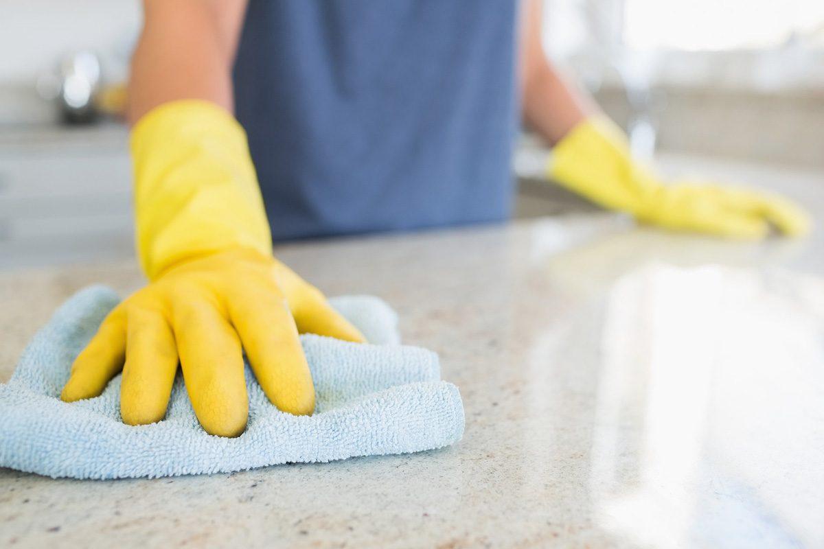 Vienkartinis buto išvalymas tiems kurie tingi jį valyti
